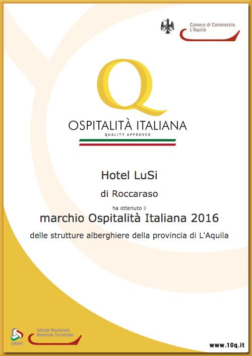 Ospitalità Italiana - Hotel Lusi